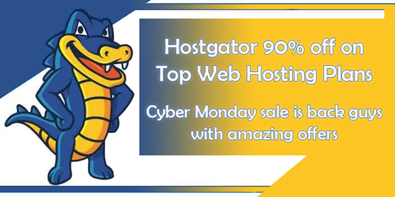 Hostgator cyber monday offer